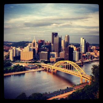 Pittsburgh from the incline.